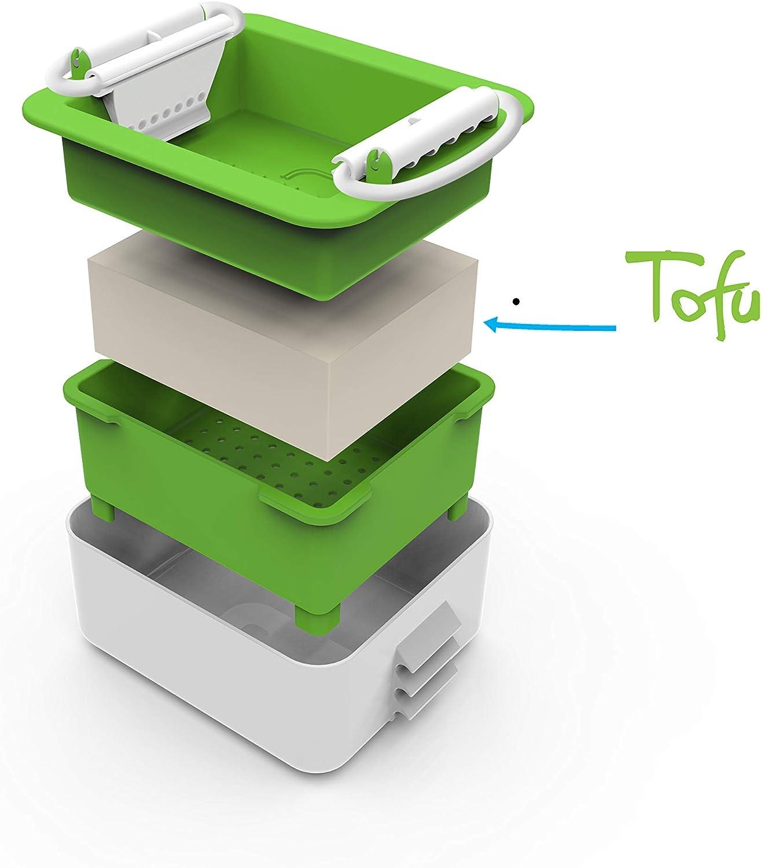 eine einzigartige und stilvolle Tofu-Presse um Ihren Tofu zu ve... Tofu Press