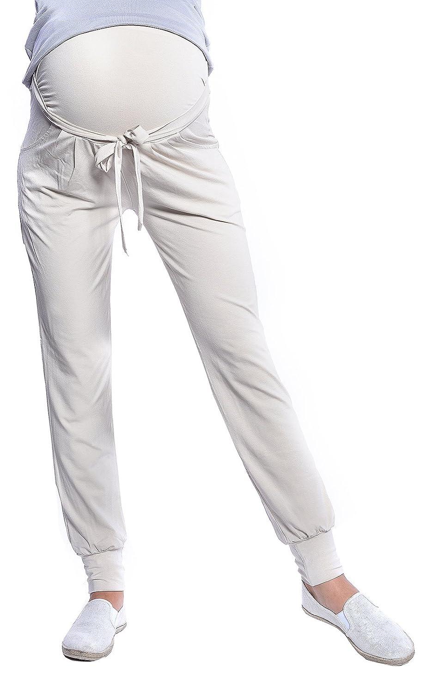 Mija - Pantalons de maternité Relaxed Pantalon Harem Aladin 4012