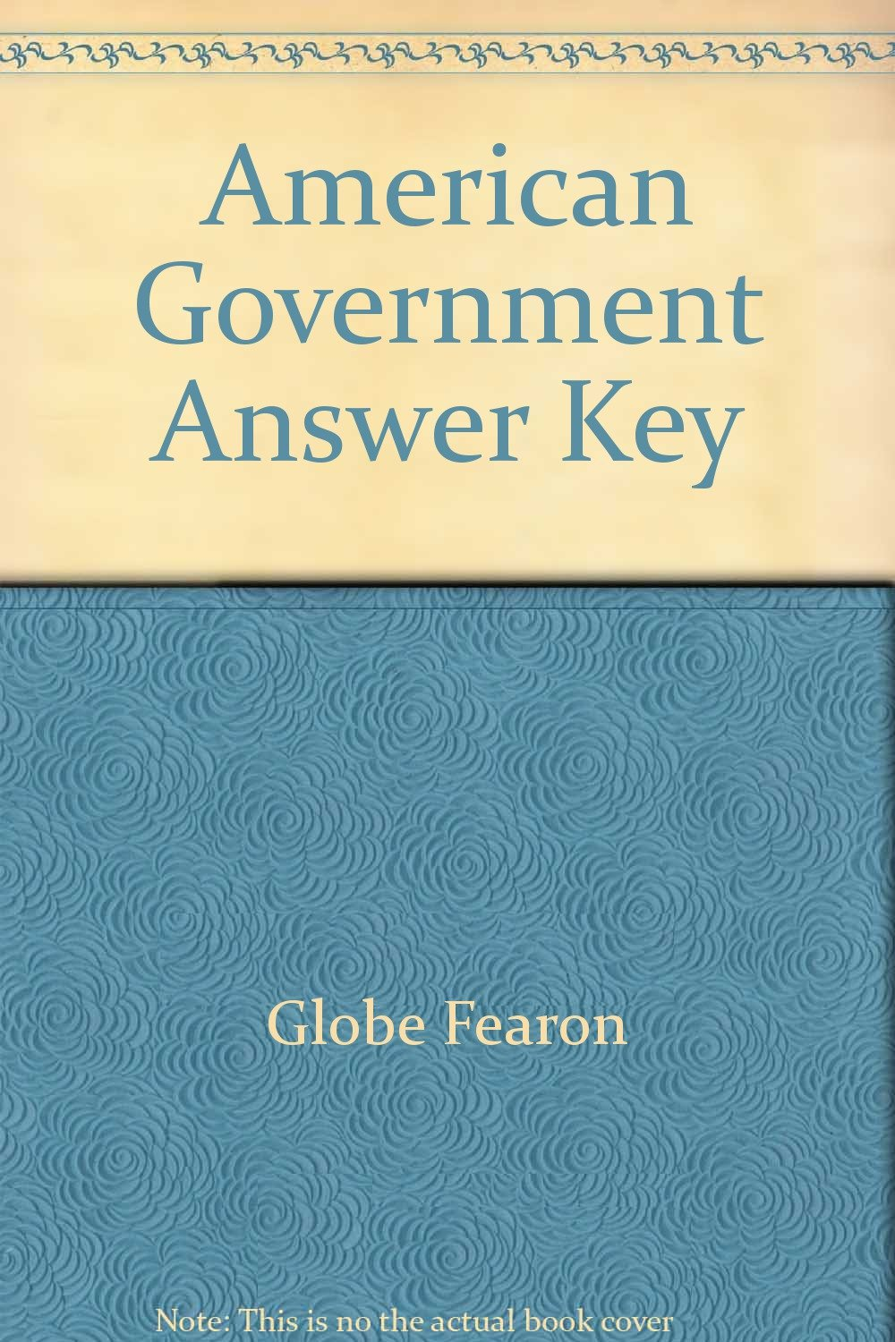 American government answer key 9780835933841 amazon books fandeluxe Choice Image