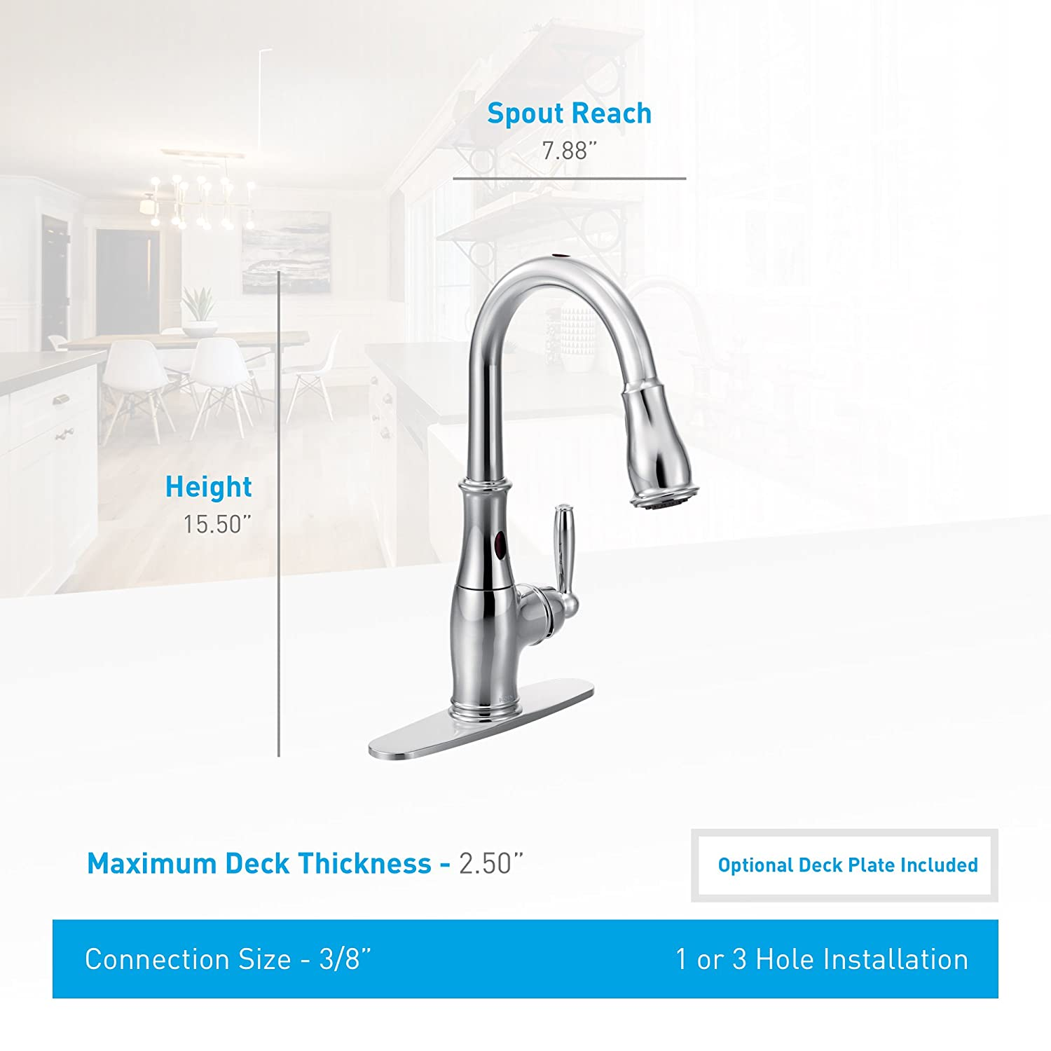 Toy box metal decor wall art shop play children store a180 ebay - Moen Brantford Motionsense Touchless One Handle High Arc Pulldown Kitchen Faucet Featuring Reflex Spot Resist Stainless 7185esrs Touch On Kitchen Sink