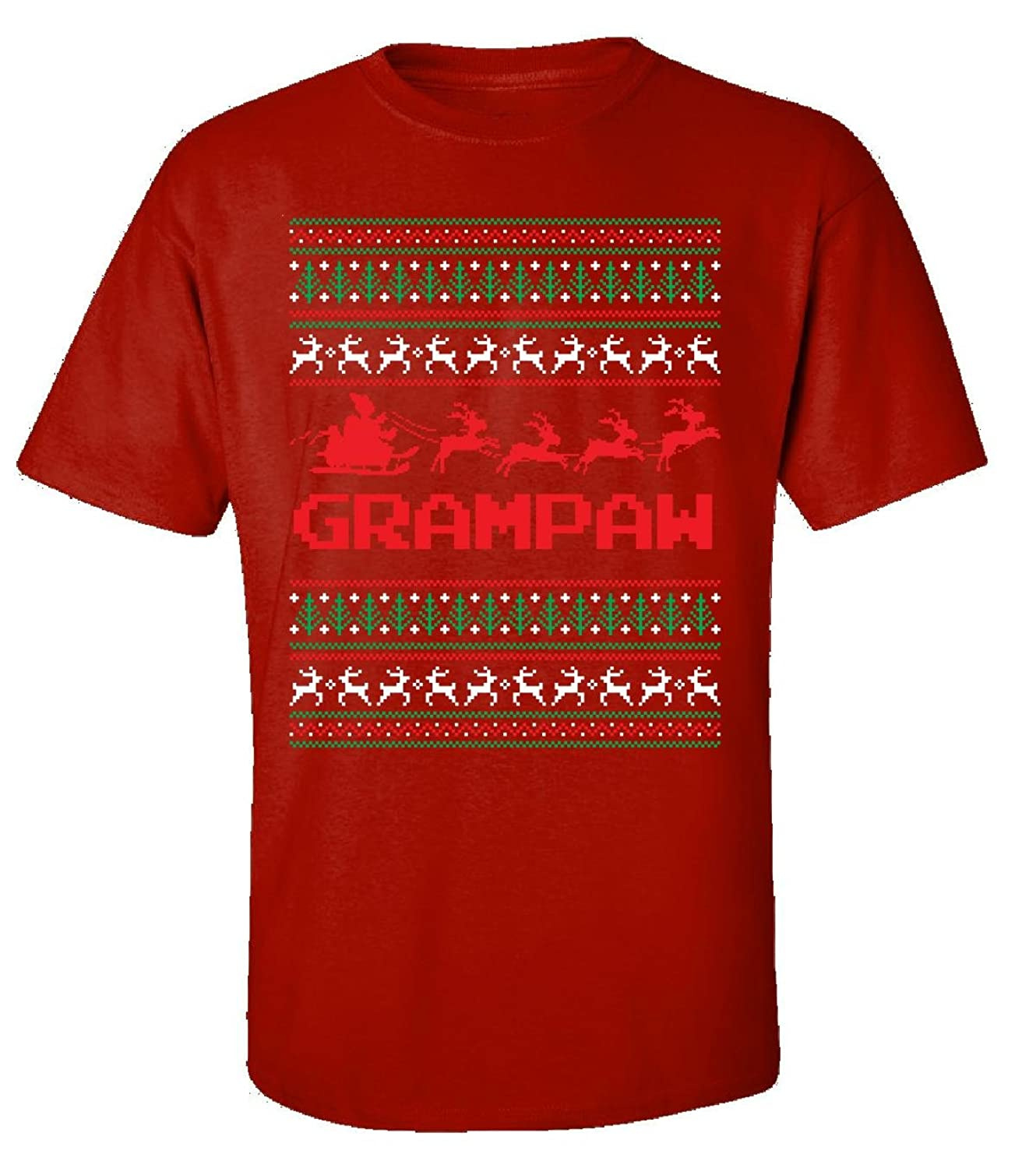 Christmas Best T Shirt Gift For Grampaw - Adult Shirt