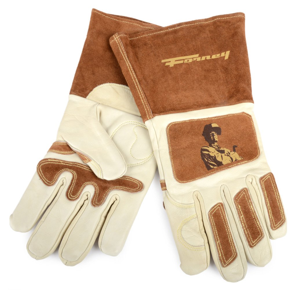 X-Large Forney 53411 Signature Mens Welding Gloves