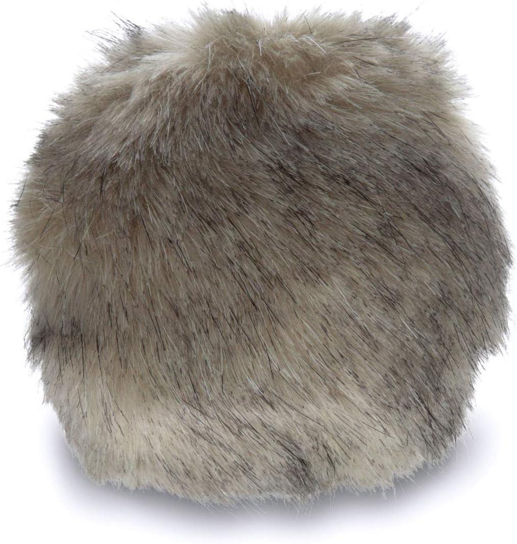 B00HHF3X0A Bernat Faux Fur Pom Pom, 3 in, Black Mink 71UXw2HdOfL