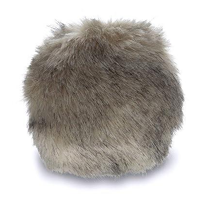 cb9a48c6b Bernat Faux Fur Pom Pom, 3 in, Black Mink