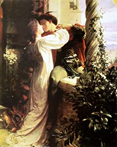 EuroGraphics Romeo and Juliet by Sir Francis Bernard Dicksee Fine Art Print Poster (16 x 20)