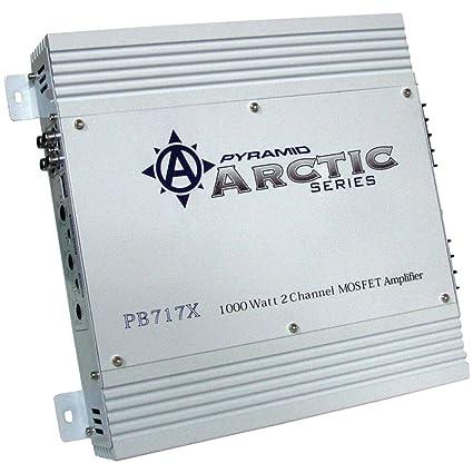 Amazon com: The Amazing PYRAMID 1000w Arctic Amplifier: Car
