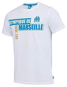 énorme réduction ff540 7b62b OLYMPIQUE DE MARSEILLE T-Shirt Om Officielle Taille Homme ...