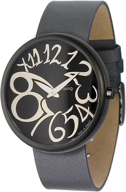 German Military Titanium Watch. GPW Big Date. Sapphire Crystal. Black German Bund Leatherstrap. 200M W R.