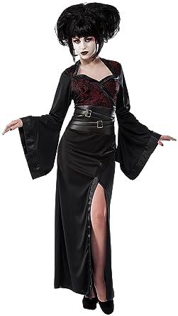 amazoncom rubies costume co womens gothic geisha costume clothing