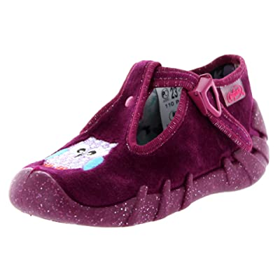 Befado Girls Jessie Cute T Strap Slippers - Made In Europe