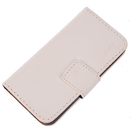 Prevoa ® 丨 Flip PU Funda Cover Case para Wolder WIAM #71 - Smartphone 5,0 Pulgadas - Negro -