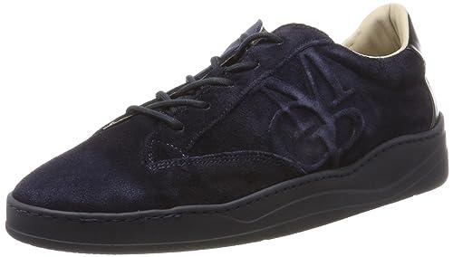 Marc OPolo Sneaker 70824093501305, Zapatillas para Hombre, Azul (Navy),