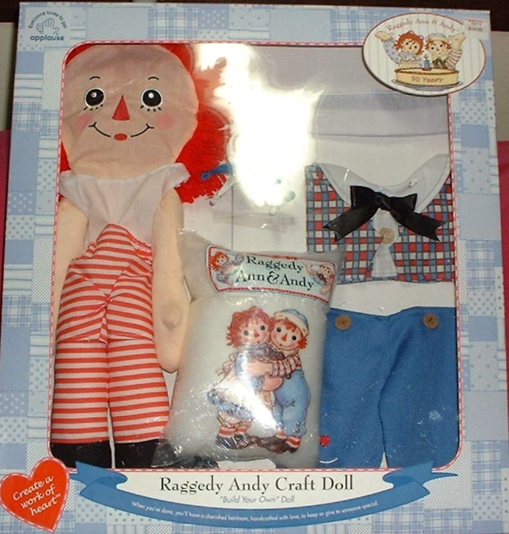 Raggedy Andy Craft Build Your Own Doll Kit