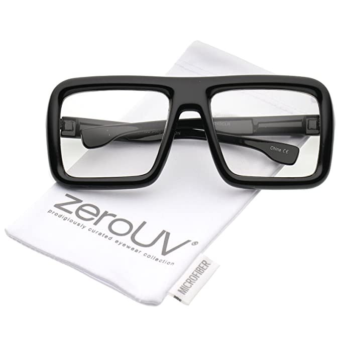 425b40753259 Zerouv Bold Thick Square Unisex Eyeglass Frame (4331601214