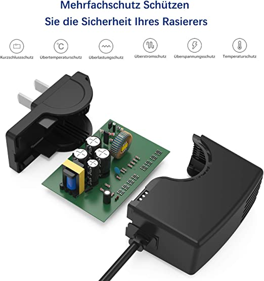 Neue Dawn Cargador de afeitadora eléctrica oneblade philips QP6520 ...