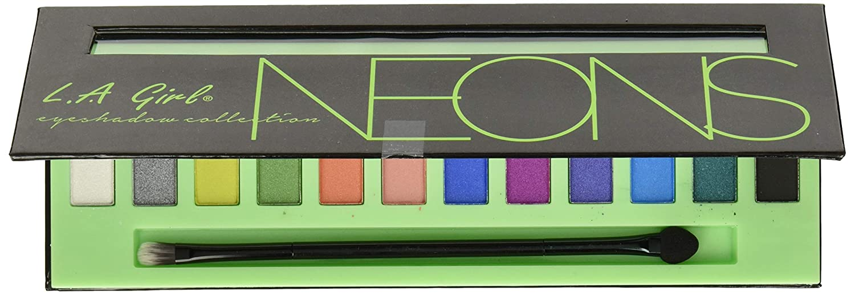 L.A. Girl Beauty Brick Eyeshadow, Neons