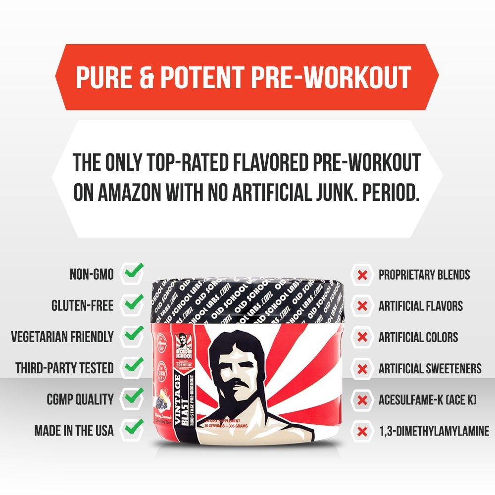 vintage blast pre workout drink