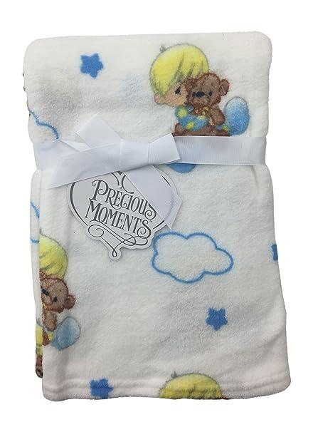 Precious Moments recién nacido niños y niñas de peluche manta de ...