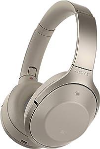 Sony Premium Noise Cancelling, Bluetooth Headphone, Grey Beige (MDR1000X/C) (2016 model)
