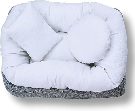 Royalr 6pcs Newborn Baby Photo Props Moon Photo Props Pillow Filler Stick Wheat Donut Posing Props Baby Pillows
