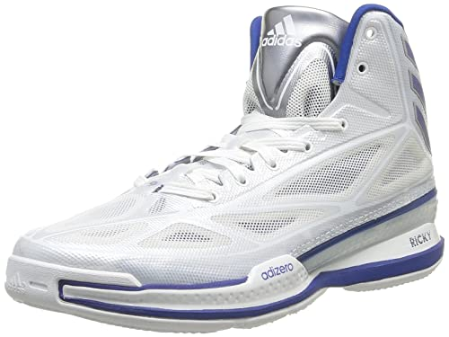 adidas Adizero Crazy Light 3 Sneakers / Scarpe Basketball Da Uomo Bianco