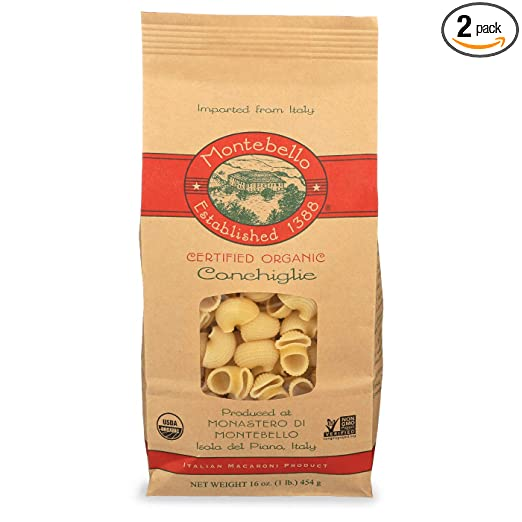 Montebello Conchiglie, 1 lb (2-Pack)