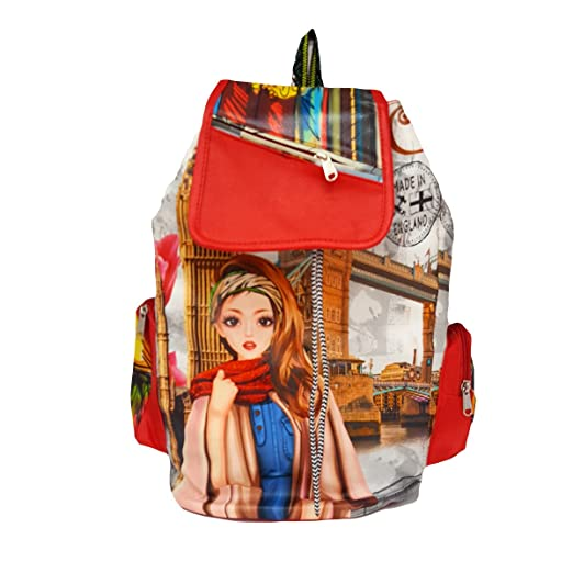 af56f67926b6 Buy TYPIFY Women s Backpack Handbag(Tbag170 Black) Online at Low Prices in  India - Amazon.in