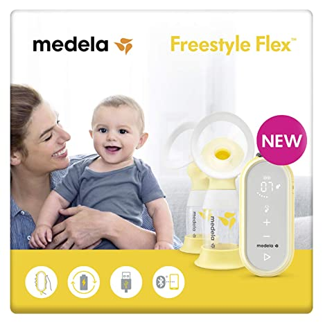Sacaleches eléctrico doble Freestyle Flex de Medela: Amazon.es: Bebé