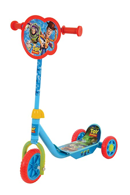 Amazon.com: Disney M004006 Toy Story - Patinete triple ...