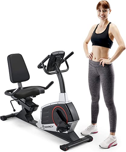 Marcy-Regenerating-Recumbent-Exercise-Bike-with-Adjustable-Seat