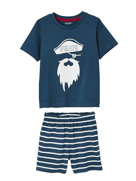 VERTBAUDET Lote de 2 Pijamas con Short niño combinables: Amazon.es: Ropa y accesorios