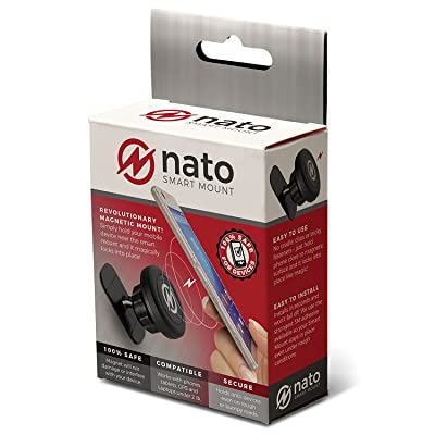 Nato Smart Mount - Magnetic Smart Device Holder Universal Adhesive