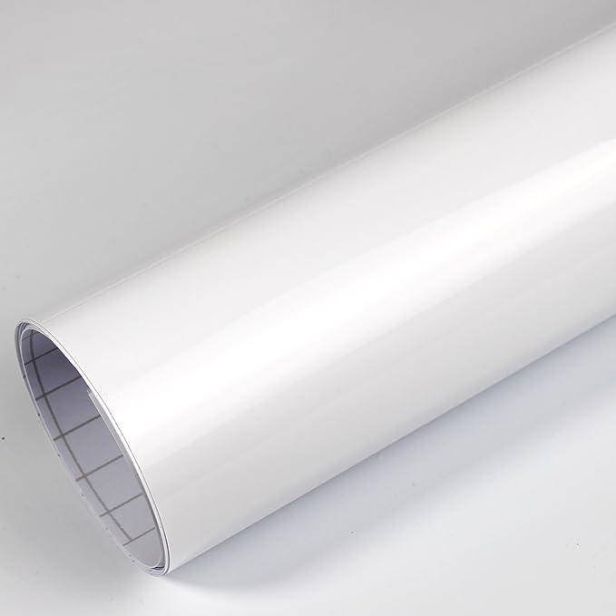 Rapid Teck 5 26 M Premium Glanz Weiß 2m X 1 52m Auto Folie Blasenfrei Mit Luftkanälen Für Auto Folierung Und 3d Bekleben In Matt Glanz Und Carbon Autofolie Küche Haushalt
