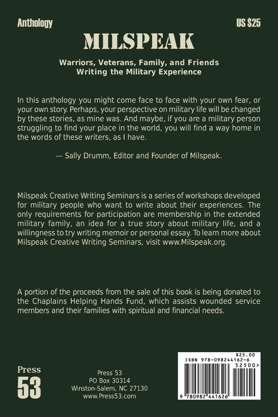 milspeak warriors veterans family and friends writing the  milspeak warriors veterans family and friends writing the military experience sally drumm 9780982441626 com books