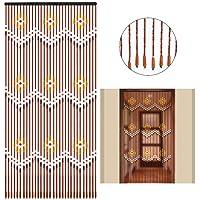 Molare 31 Line Wooden Bead Curtain Handmade Fly
