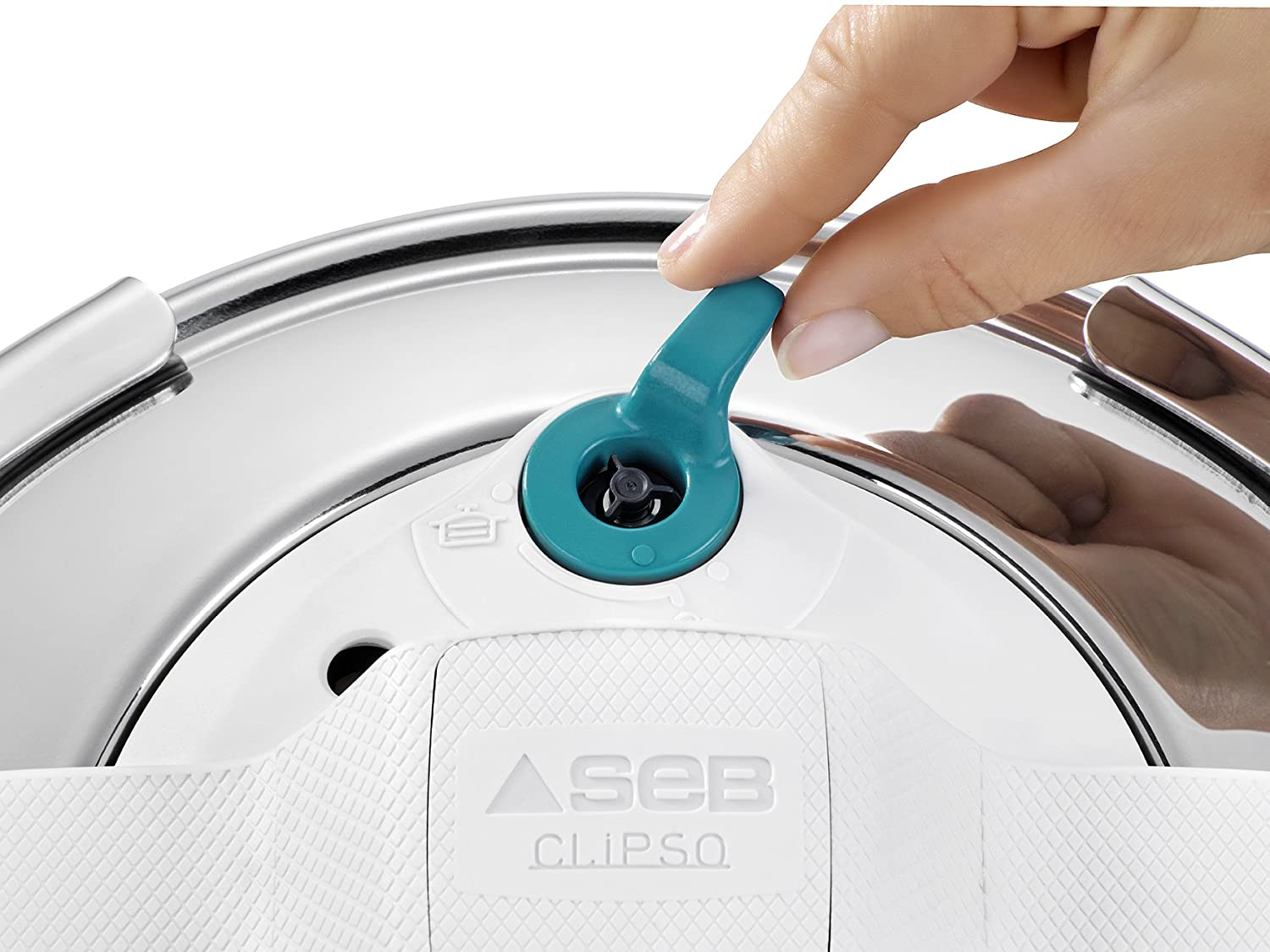 SEB Clispo Essential Colors 7.5 L Turquoise, Acero, Azul: Amazon.es: Hogar