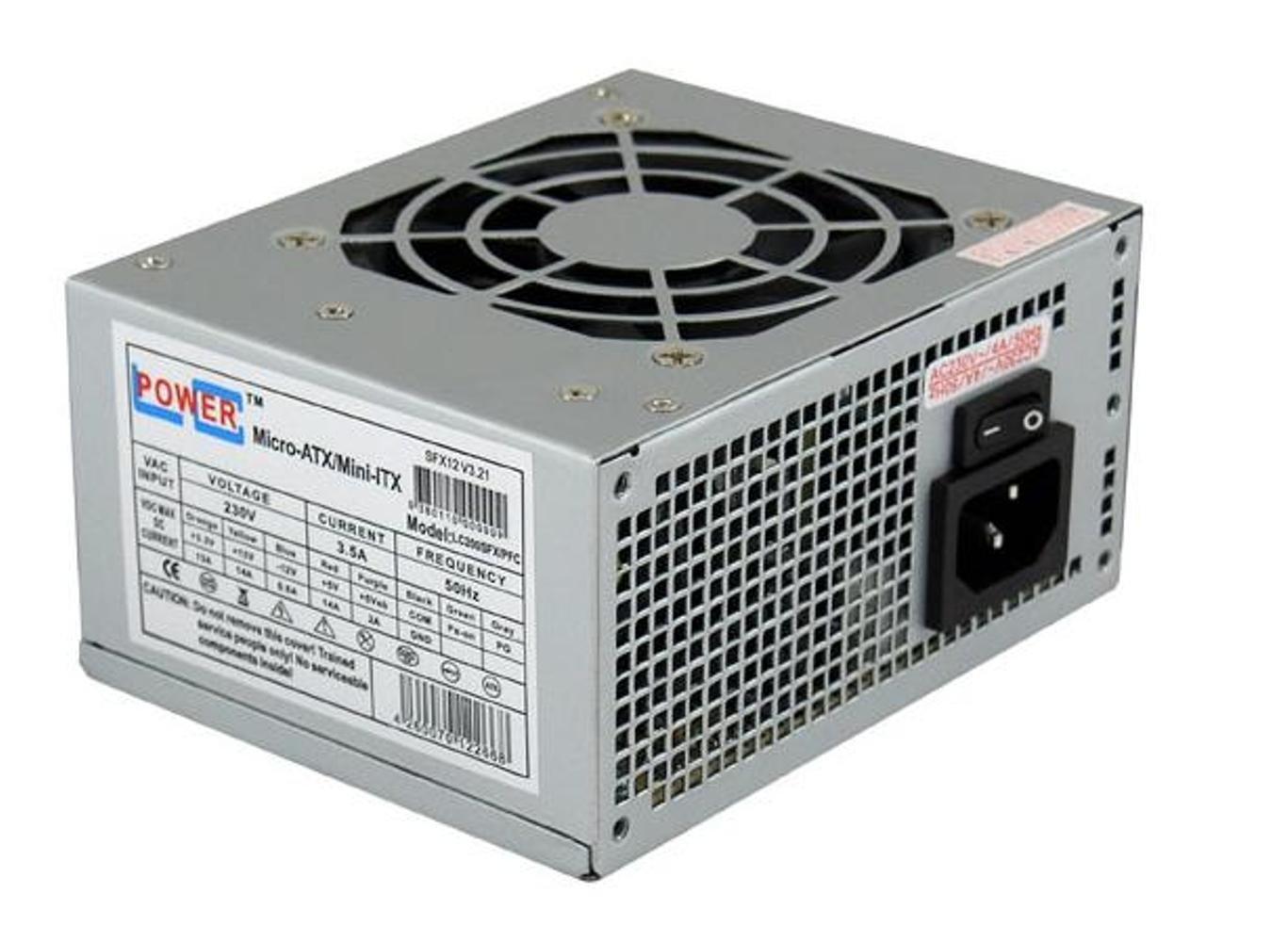 LC-Power LC200SFX V3.21 - SFX PSU - Fuente de alimentació n (200W, 50 Hz, 3,5A, 8 cm, Superior, Pasivo) Gris