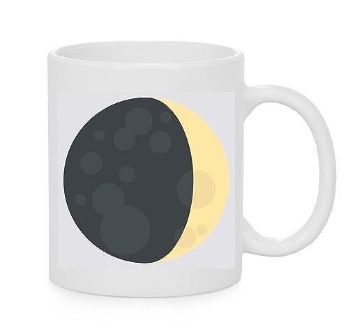 Emoji taza encerado Luna Símbolo Emoji: Amazon.es: Hogar
