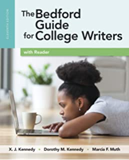 9781457630767: the bedford guide for college writers with reader.