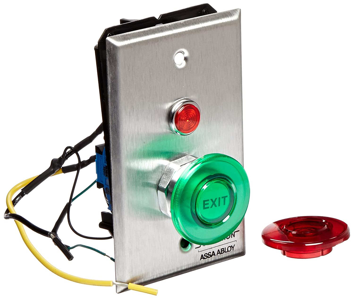 7Amps 1.5 Round Momentary 1.5 Round Momentary Securitron Magnalock Corporation PB DPST Securitron Single Gang Momentary Push Button