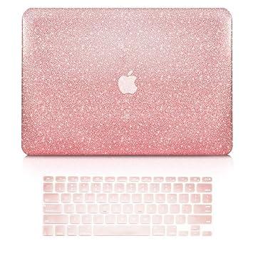 CUBIERTA SUPERIOR - Estuche rígido 2 piezas en 1 paquete + Funda para teclado Compatible con Apple MacBook Air 13
