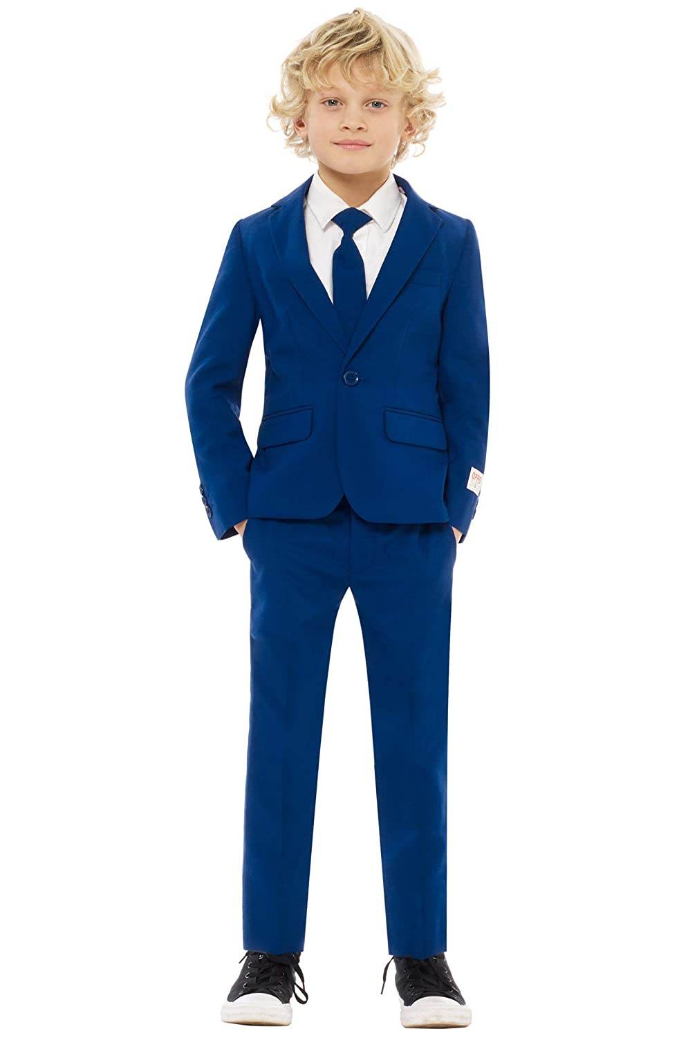 Navy Royale 10 Opposuits Crazy Suits for Boys in Different Prints – Comes with Jacket, Pants and Tie In Funny Designs