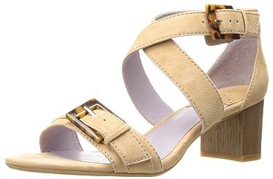 Johnston & Murphy Women's Katarina Dress Sandal, Latte, ...