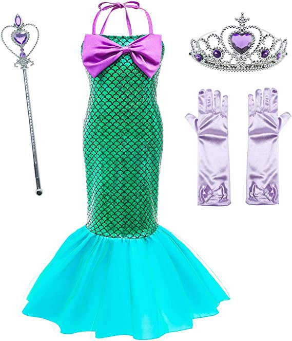 Le SSara Vestido de Fiesta de Lentejuelas de Disfraces de Princesa ...