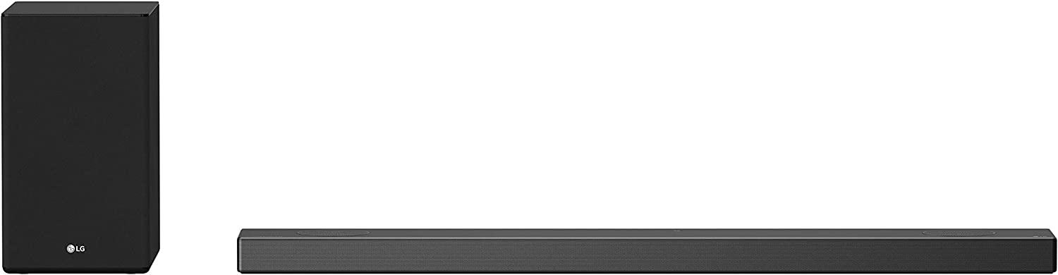 LG SN9YG 5.1.2 ch 520W High Res Audio Sound Bar with Dolby Atmos and Google Assistant Built-in, Black