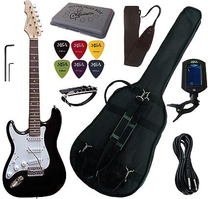 Vision-PACK de guitarra eléctrica, incluye afinador électronique ...
