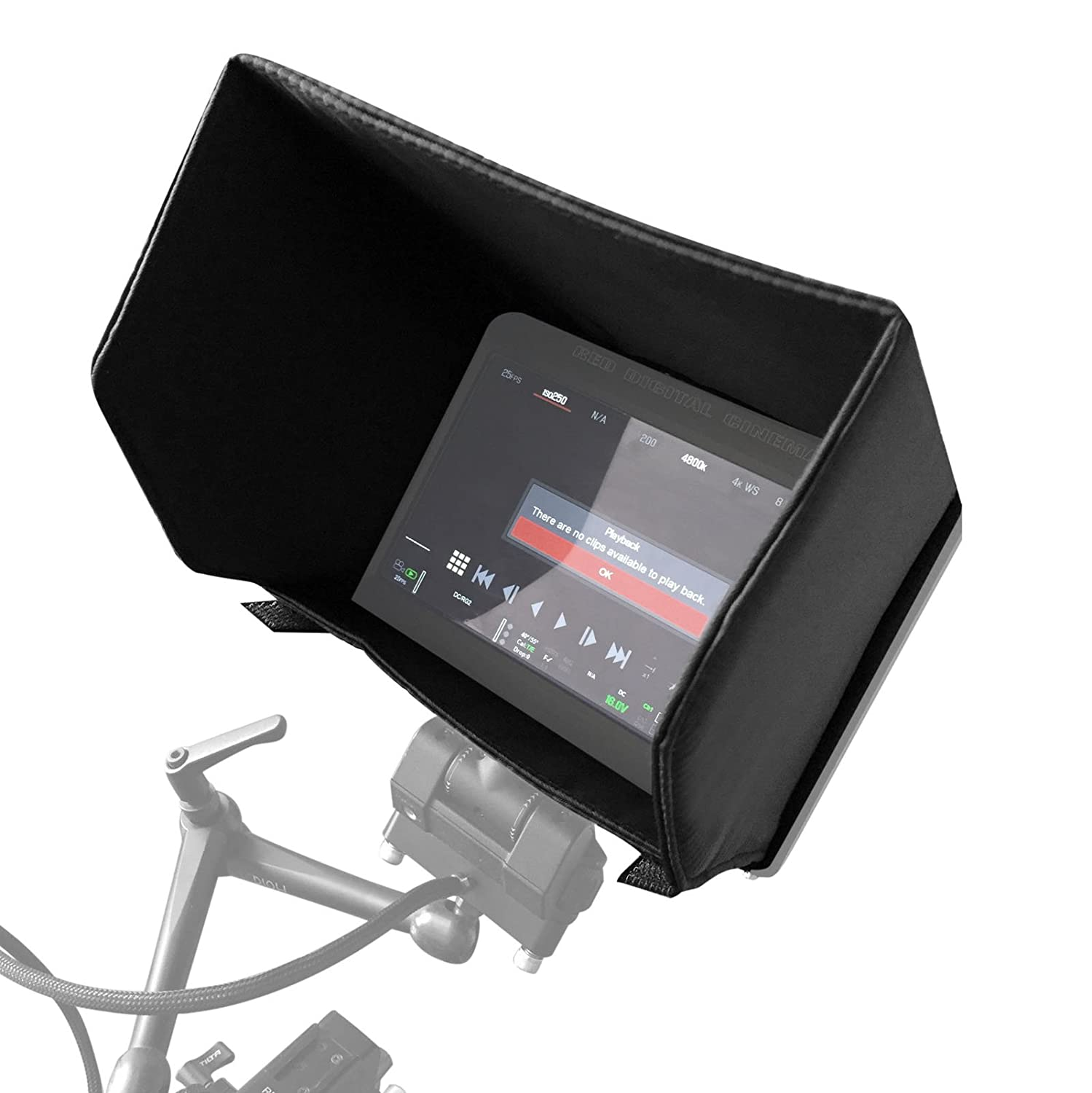 DSMC2 for Red Touch 7.0/'/' LCD SMALLRIG 7 Monitor Sun Hood Sunshade for Red Touch 7.0/'/' LCD 2034 for Red Pro Touch 7.0/'/' LCD