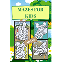 mazes: Make decisions, color and learn a new language (English Edition)