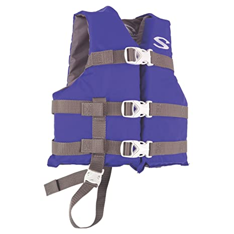 ce44a303d09 Amazon.com   Stearns 3000004471 PFD 3004 Child Poly Boating Blu ...