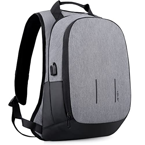 Business Laptop Backpack, Mancro Travel Bag with Headphone ... |Business Tech Backpack